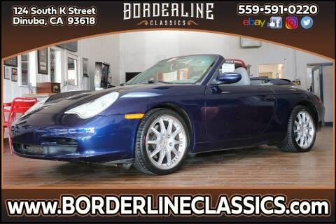2002 Porsche 911 for sale at Borderline Classics in Dinuba CA