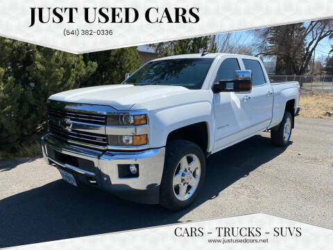 2015 Chevrolet Silverado 2500HD for sale at Just Used Cars in Bend OR