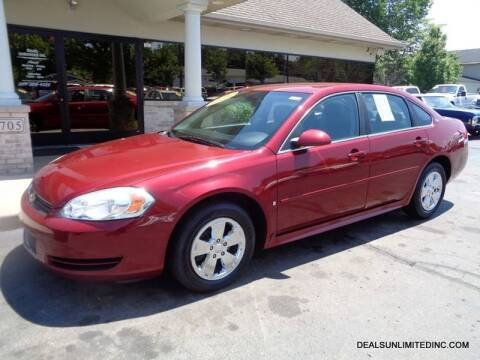 2009 Chevrolet Impala for sale at DEALS UNLIMITED INC in Portage MI
