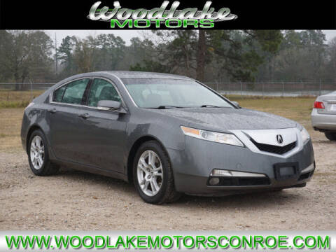 2010 Acura TL for sale at WOODLAKE MOTORS in Conroe TX