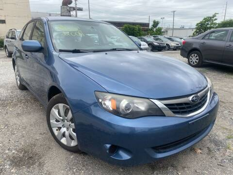 2009 Subaru Impreza for sale at Philadelphia Public Auto Auction in Philadelphia PA