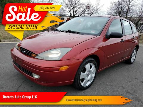 2004 Ford Focus for sale at Dreams Auto Group LLC in Sterling VA