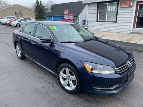 2013 Volkswagen Passat for sale at OZ BROTHERS AUTO in Webster NY