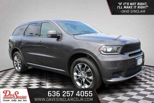 2019 Dodge Durango for sale at Dave Sinclair Chrysler Dodge Jeep Ram in Pacific MO