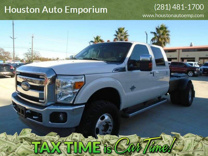 2013 Ford F-350 Super Duty for sale at Houston Auto Emporium in Houston TX