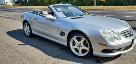2003 Mercedes-Benz SL-Class for sale at Russo's Auto Exchange LLC in Enfield CT