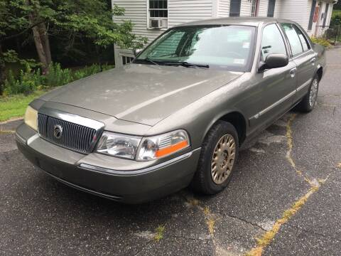 2003 Mercury Grand Marquis for sale at Olney Auto Sales in Springfield VT