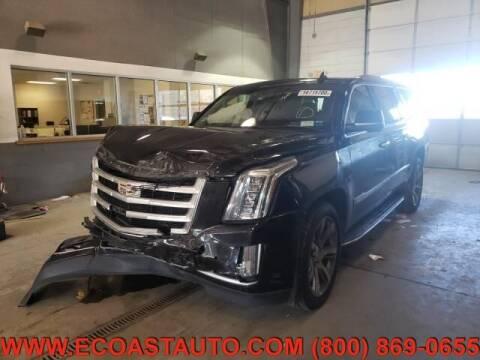 2015 Cadillac Escalade ESV for sale at East Coast Auto Source Inc. in Bedford VA