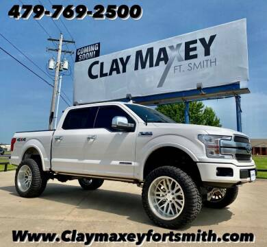 2018 Ford F-150 for sale at Clay Maxey NWA in Springdale AR