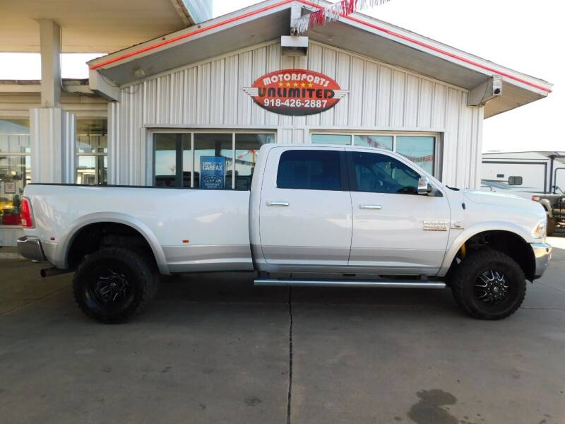2017 RAM Ram Pickup 3500 for sale at Motorsports Unlimited in McAlester OK
