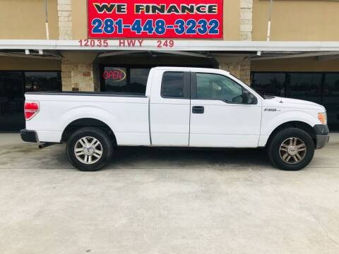 2011 Ford F-150 for sale at FREDYS CARS FOR LESS in Houston TX