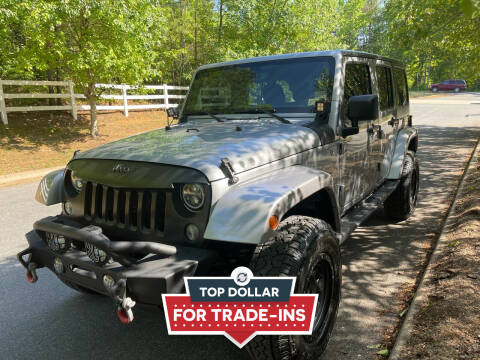 2014 Jeep Wrangler Unlimited for sale at Premier Auto Solutions & Sales in Quinton VA