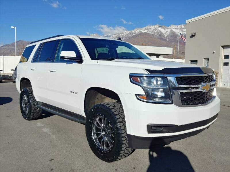 2015 Chevrolet Tahoe for sale at Canyon Auto Sales in Orem UT