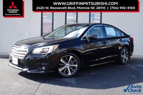 2017 Subaru Legacy for sale at Griffin Mitsubishi in Monroe NC