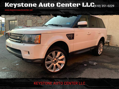 2013 Land Rover Range Rover Sport for sale at Keystone Auto Center LLC in Allentown PA