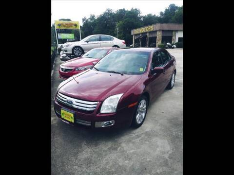 2006 Ford Fusion for sale at TR Motors in Opelika AL
