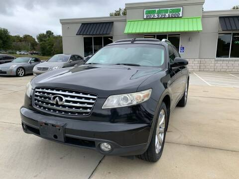2004 Infiniti FX35 for sale at Cross Motor Group in Rock Hill SC