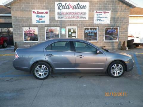 2006 Ford Fusion for sale at Relaxation Automobile Station in Moorhead MN
