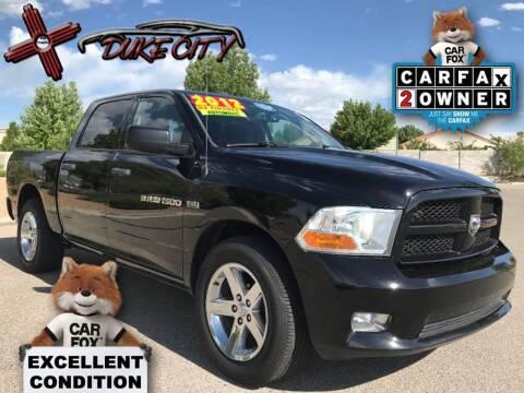 2012 RAM Ram Pickup 1500 for sale at DUKE CITY AUTO SALES in Albuquerque NM
