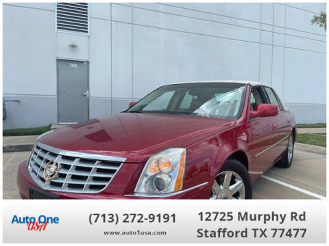 2007 Cadillac DTS for sale at Auto One USA in Stafford TX
