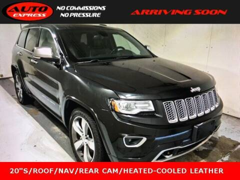 2015 Jeep Grand Cherokee for sale at Auto Express in Lafayette IN