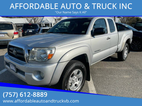 2007 Toyota Tacoma for sale at AFFORDABLE AUTO & TRUCK INC in Virginia Beach VA