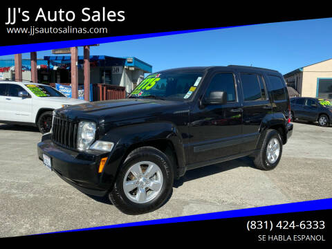 2012 Jeep Liberty for sale at JJ's Auto Sales in Salinas CA