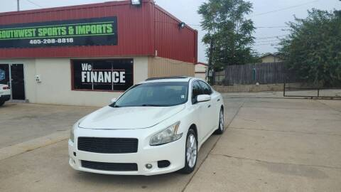 2009 Nissan Maxima for sale at Southwest Sports & Imports in Oklahoma City OK