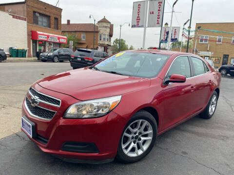 2013 Chevrolet Malibu for sale at Latino Motors in Aurora IL