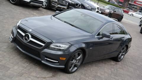 2012 Mercedes-Benz CLS for sale at Cars-KC LLC in Overland Park KS