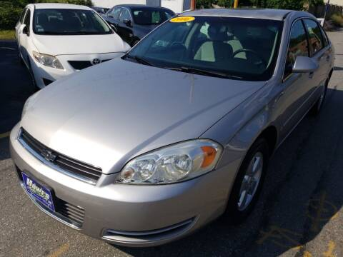 2006 Chevrolet Impala for sale at Howe's Auto Sales in Lowell MA