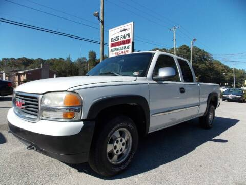 2001 GMC Sierra 1500 for sale at Deer Park Auto Sales Corp in Newport News VA
