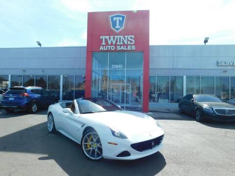 2015 Ferrari California T for sale at Twins Auto Sales Inc Redford 1 in Redford MI
