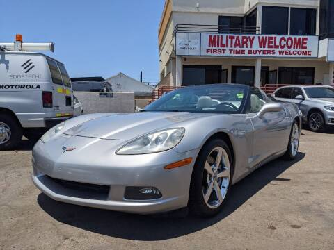 2008 Chevrolet Corvette for sale at Convoy Motors LLC in National City CA