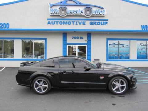2005 Ford Mustang for sale at The Wholesale Outlet in Blackwood NJ