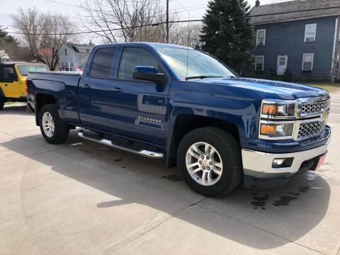 2015 Chevrolet Silverado 1500 for sale at Dussault Auto Sales in Saint Albans VT