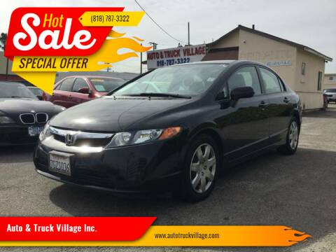 2007 Honda Civic for sale at Auto & Truck Village Inc. in Van Nuys CA