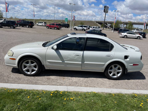 2001 Nissan Maxima for sale at GILES & JOHNSON AUTOMART in Idaho Falls ID