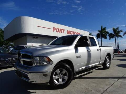 2018 RAM Ram Pickup 1500 for sale at Automotive Credit Union Services in West Palm Beach FL
