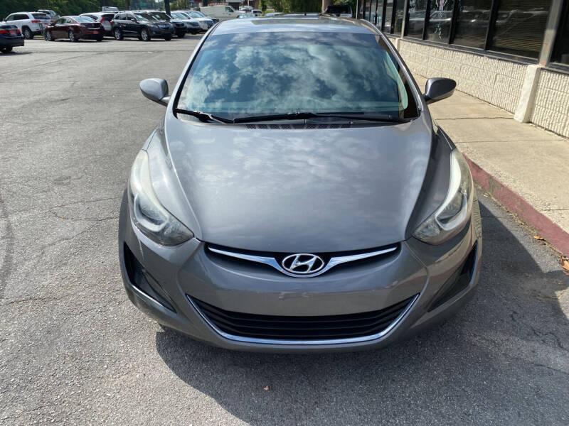 2014 Hyundai Elantra for sale at J Franklin Auto Sales in Macon GA