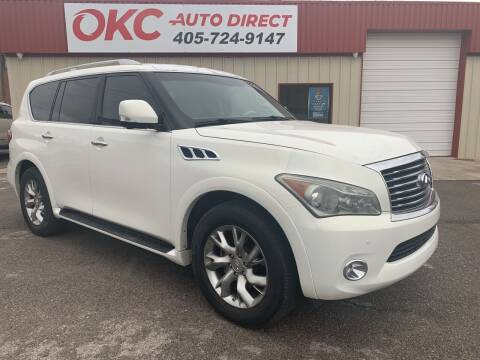 2011 Infiniti QX56 for sale at OKC Auto Direct in Oklahoma City OK