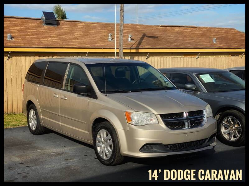 2014 Dodge Grand Caravan for sale at ASTRO MOTORS in Houston TX