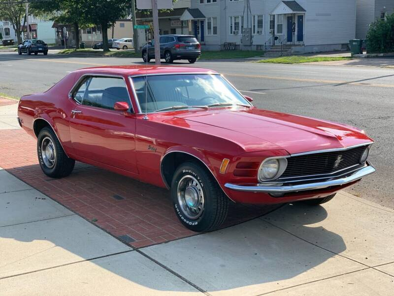 1970 Ford Mustang for sale at Viscuso Motors in Hamden CT