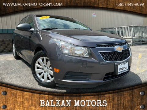 2011 Chevrolet Cruze for sale at BALKAN MOTORS in East Rochester NY