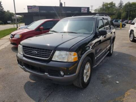 2002 Ford Explorer for sale at D & D All American Auto Sales in Mt Clemens MI