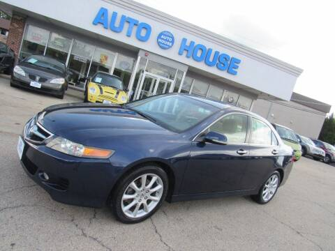 2008 Acura TSX for sale at Auto House Motors in Downers Grove IL