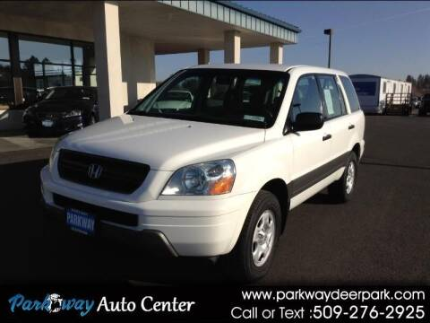 2005 Honda Pilot for sale at PARKWAY AUTO CENTER AND RV in Deer Park WA