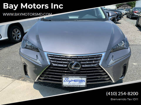 2018 Lexus NX 300 for sale at Bay Motors Inc in Baltimore MD