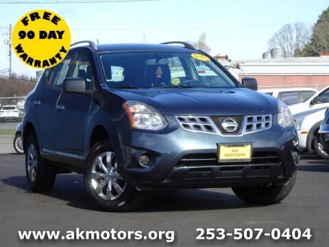 2015 Nissan Rogue Select for sale at AK Motors in Tacoma WA