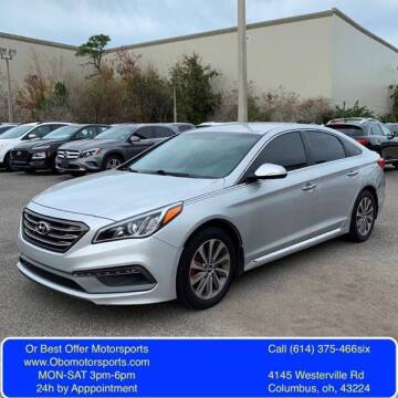 2015 Hyundai Sonata for sale at Or Best Offer Motorsports in Columbus OH